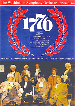 1776, featuring members of Congress.